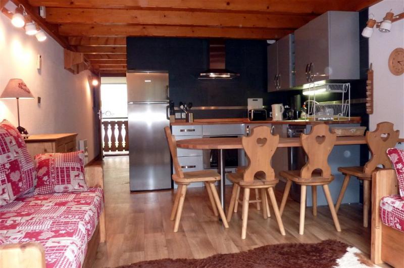 Cucina all'americana Affitto Appartamento 59899 Châtel