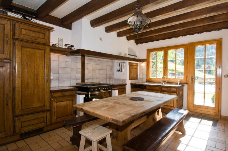 Cucina all'americana Affitto Chalet 600 Châtel
