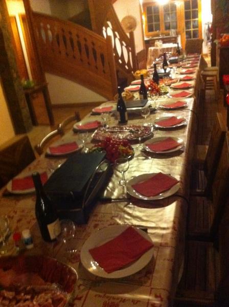Sala da pranzo Affitto Chalet 600 Châtel