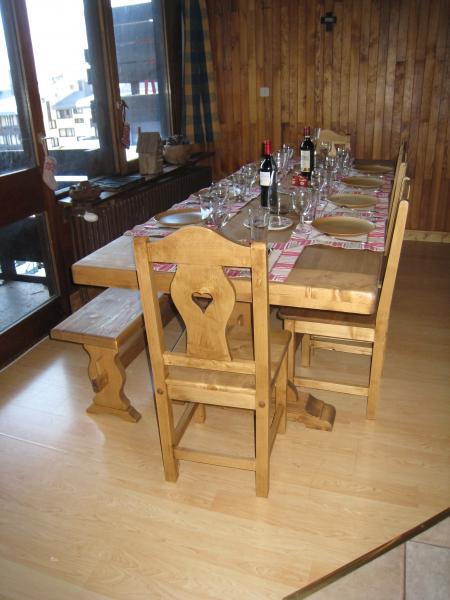 Sala da pranzo Affitto Appartamento 60012 Tignes