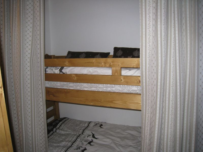 Zona notte aperta Affitto Appartamento 60012 Tignes
