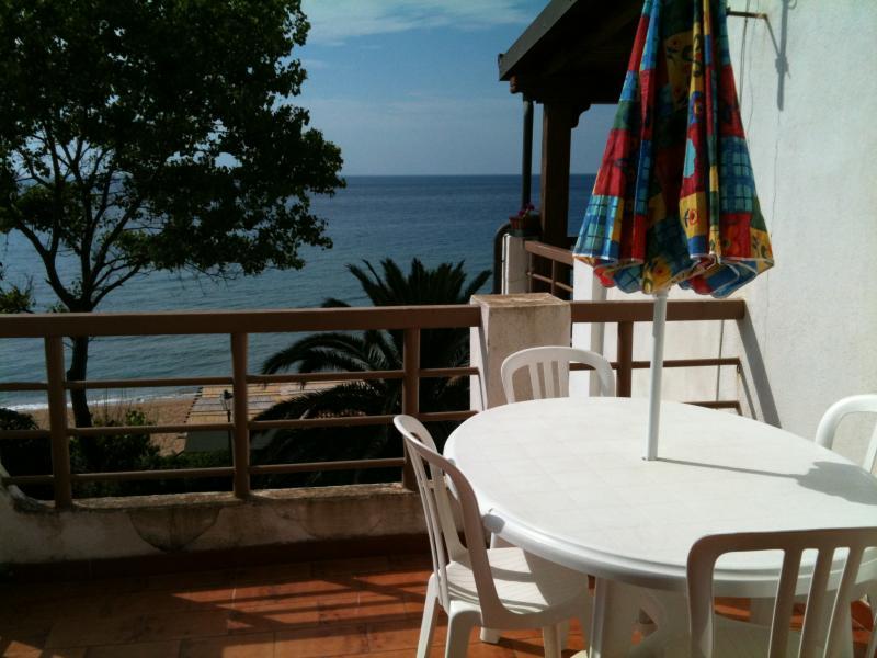 Vista dal terrazzo Affitto Appartamento 60169 Isola di Capo Rizzuto