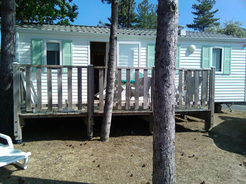 Vista esterna della casa vacanze Affitto Casa mobile 60835 Saint Jean de Monts