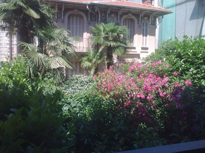 Vista dal terrazzo Affitto Monolocale 61032 Nizza