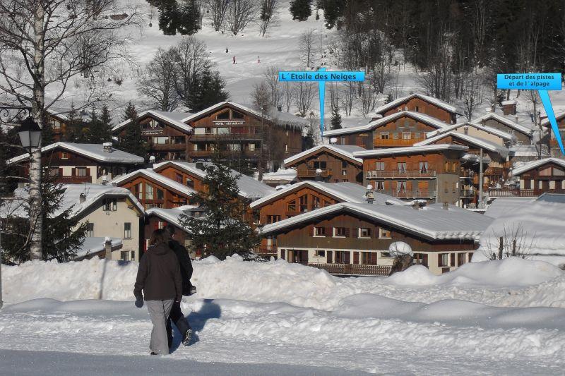 Vista esterna della casa vacanze Affitto Appartamento 61166 Pralognan la Vanoise