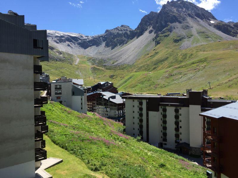 Vista dal balcone Affitto Monolocale 61425 Tignes