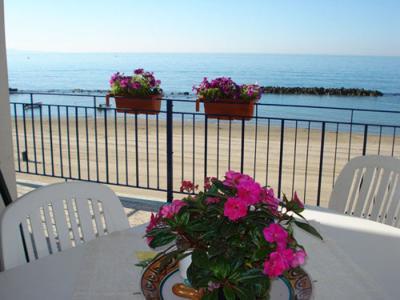Vista dal terrazzo Affitto Appartamento 62083 Sciacca