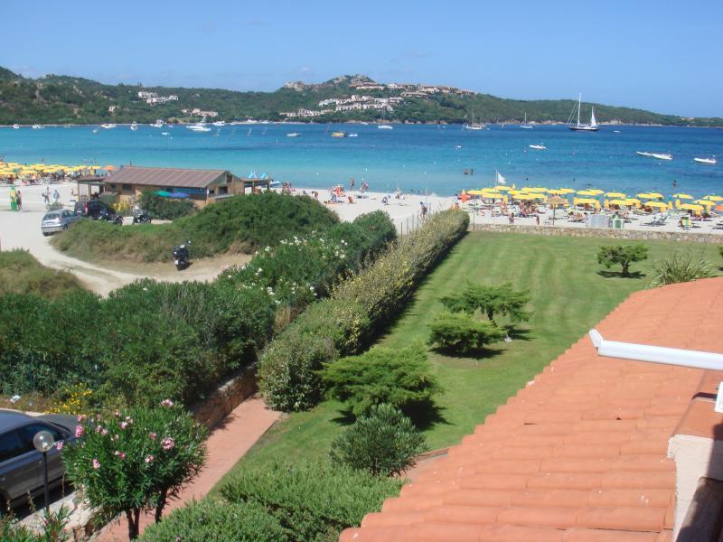 Vista dal balcone Affitto Monolocale 62654 Porto Rotondo