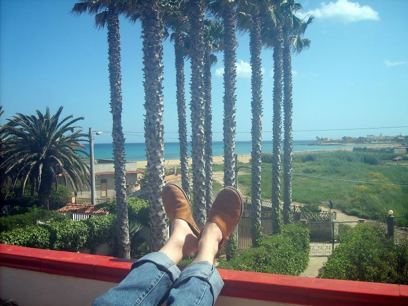 Vista dal balcone Affitto Appartamento 63092 Avola