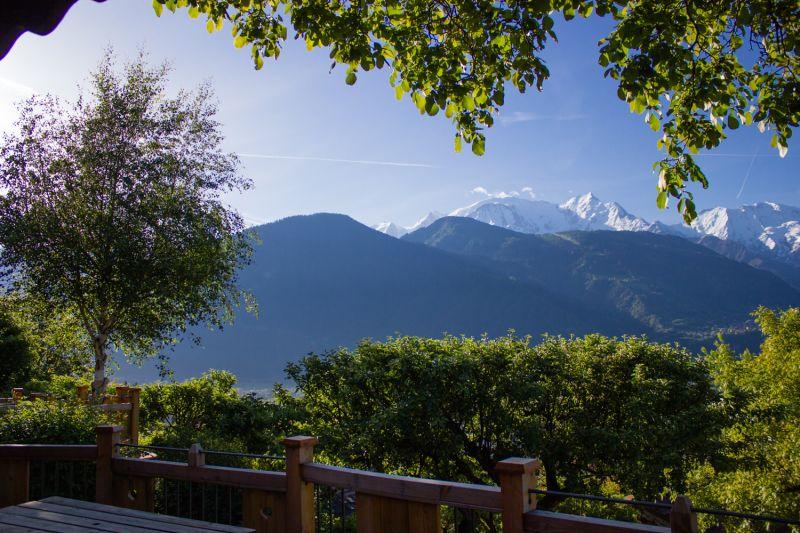 Vista dal terrazzo Affitto Chalet 651 Chamonix Mont-Blanc (Monte Bianco)