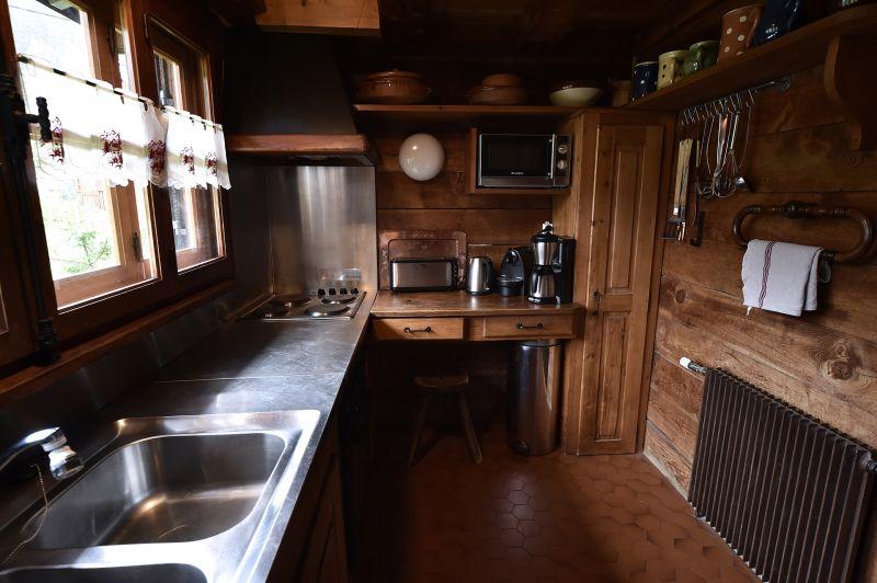 Cucina separata Affitto Chalet 706 Chamonix Mont-Blanc (Monte Bianco)
