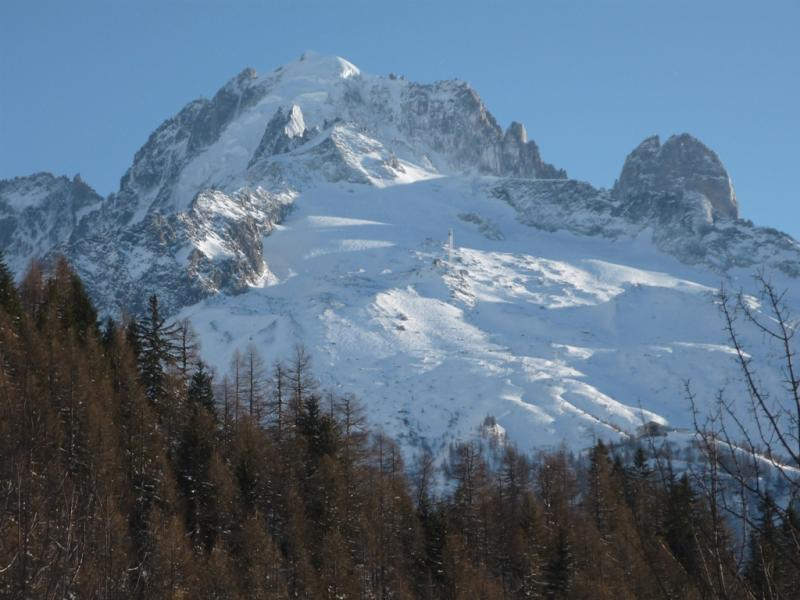 Vista dal terrazzo Affitto Chalet 706 Chamonix Mont-Blanc (Monte Bianco)