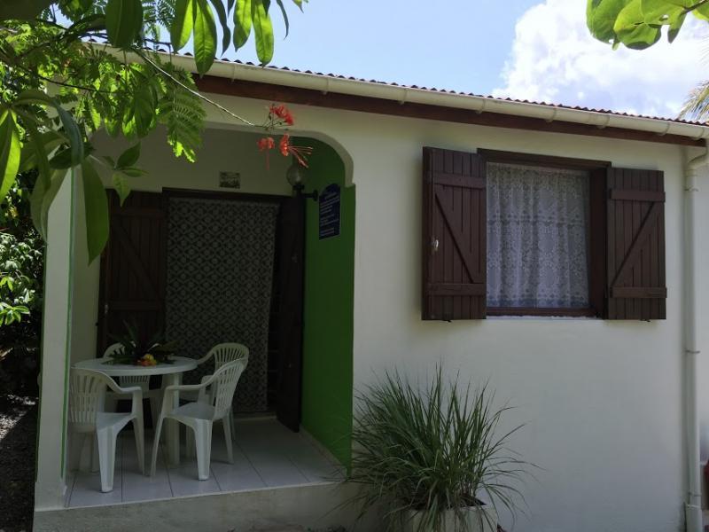 Vista esterna della casa vacanze Affitto Bungalow 8003 Gosier (Guadalupa)