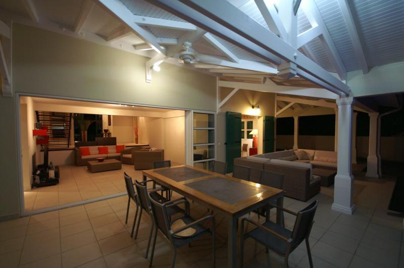 Vista dal terrazzo Affitto Villa  8020 Saint Francois