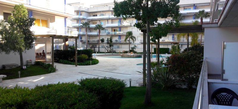 Vista dal terrazzo Affitto Appartamento 8293 Rosas