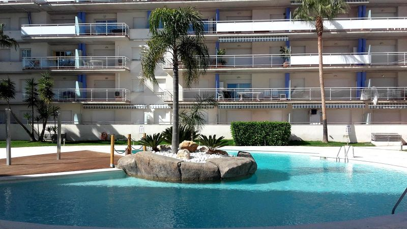 Vista esterna della casa vacanze Affitto Appartamento 8293 Rosas