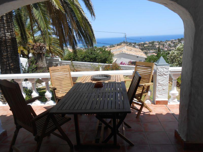 Vista dal terrazzo Affitto Villa  9700 Dénia