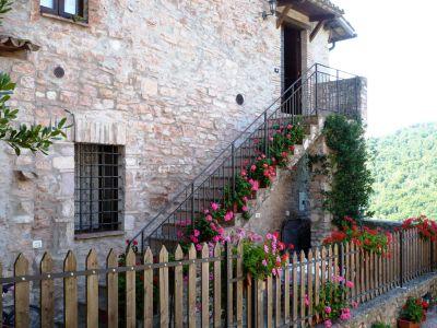 Vista esterna della casa vacanze Affitto Appartamento 102668 Spoleto