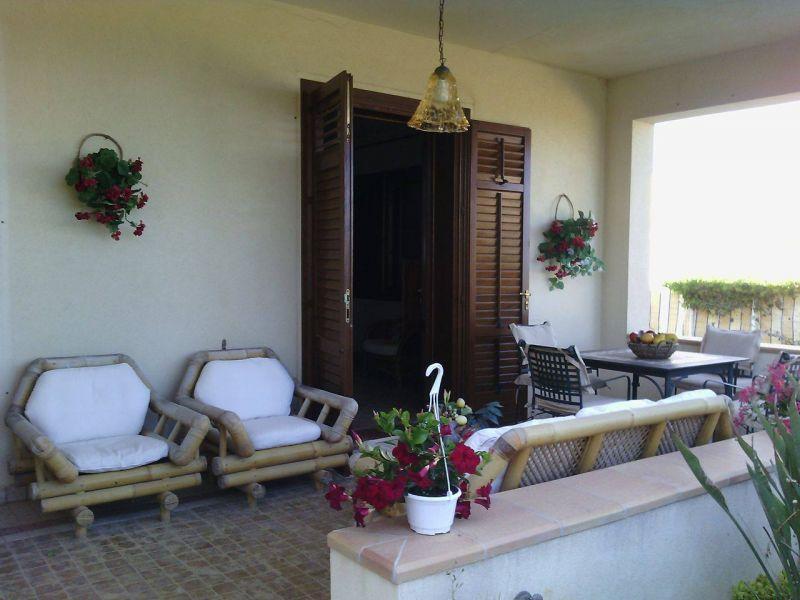 Veranda Affitto Villa  105374 Mazara del Vallo