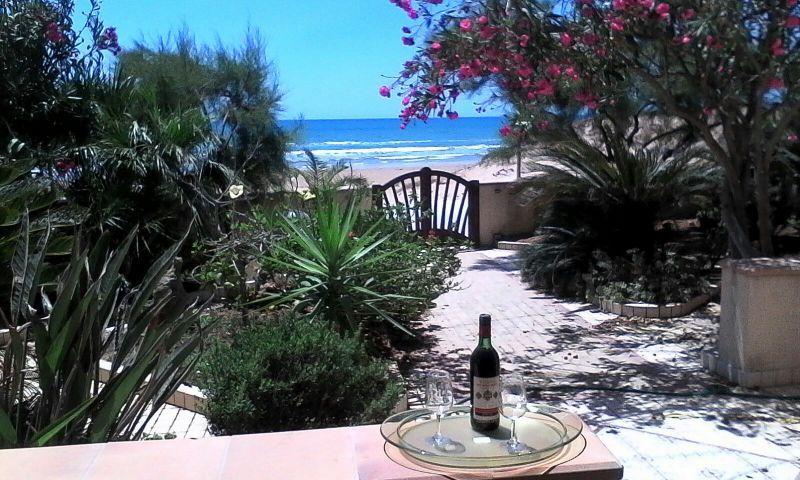 Vista dalla casa vacanze Affitto Villa  105374 Mazara del Vallo