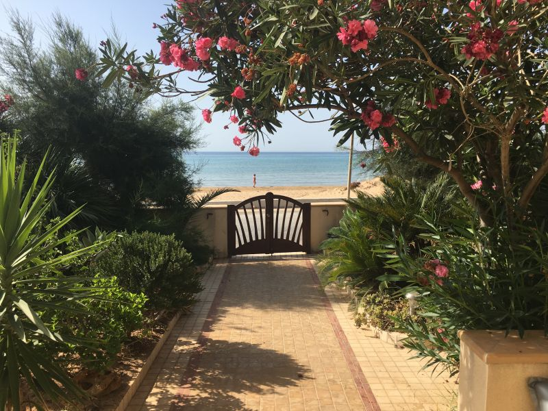 Vista dalla casa vacanze Affitto Villa  105374 Tre Fontane