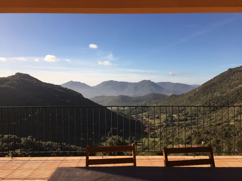 Vista dal terrazzo Affitto Agriturismo 111018 Propriano