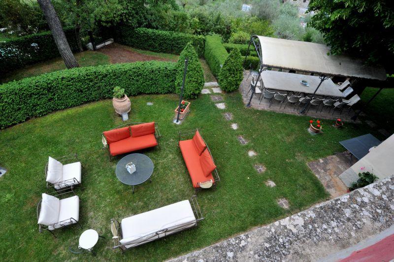 Vista dal terrazzo Affitto Villa  111227 Chianciano Terme
