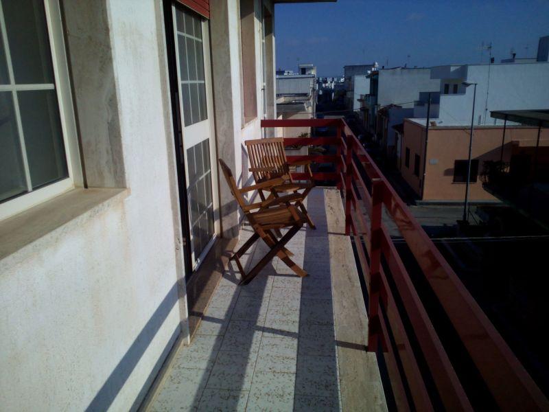 Vista dal balcone Affitto Casa 114947 Gallipoli