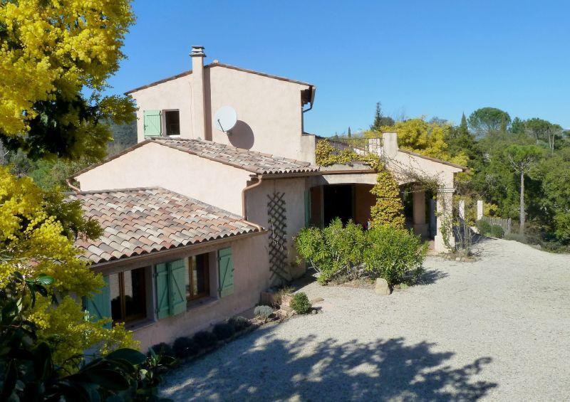 Vista esterna della casa vacanze Affitto Villa  119068 Fayence