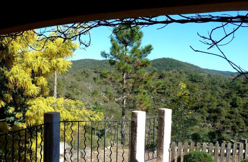 Vista dal terrazzo Affitto Villa  119068 Fayence