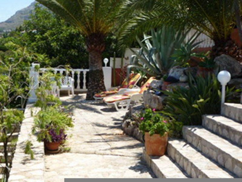 Giardino Affitto Appartamento 68782 Dénia