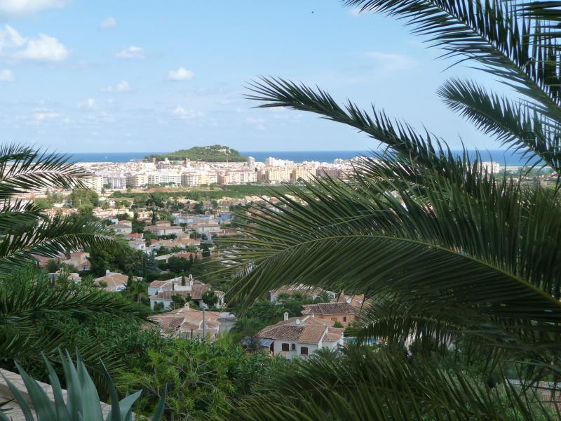 Vista dalla casa vacanze Affitto Appartamento 68782 Dénia