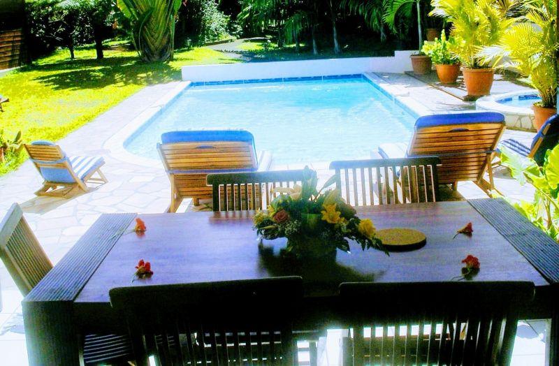Vista dal terrazzo Affitto Villa  73361 L'Entre Deux