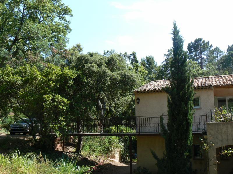 Vista esterna della casa vacanze Affitto Appartamento 73716 Mandelieu la Napoule
