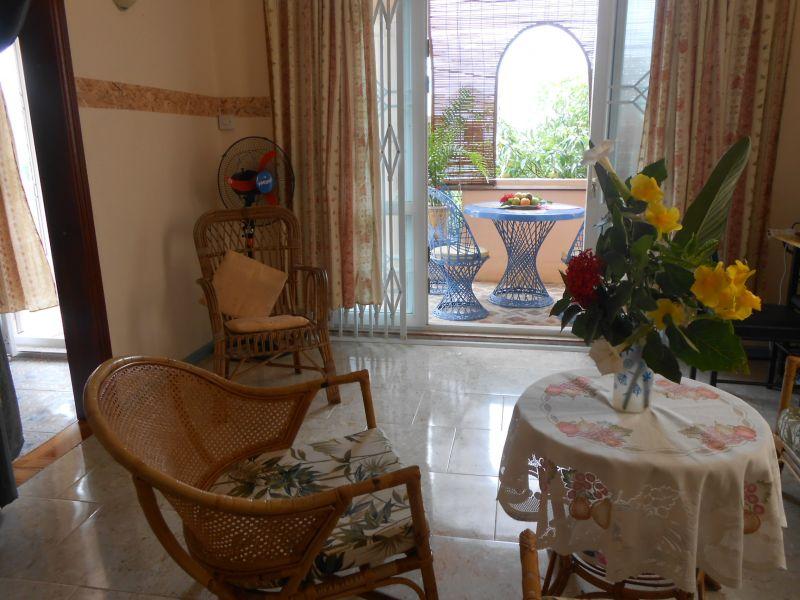 Vista dal balcone Affitto Appartamento 82122 Trou-aux-biches