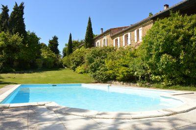 Vista esterna della casa vacanze Affitto Agriturismo 84754 Carcassonne