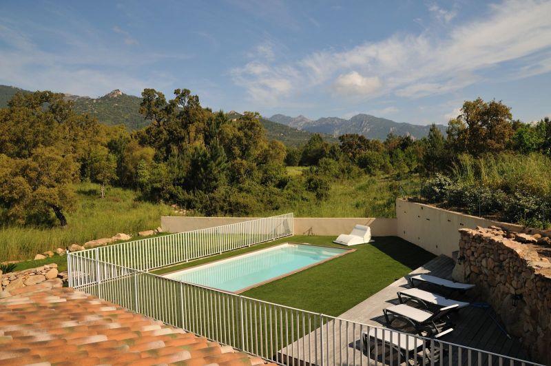 Vista dal balcone Affitto Villa  92380 Porto Vecchio