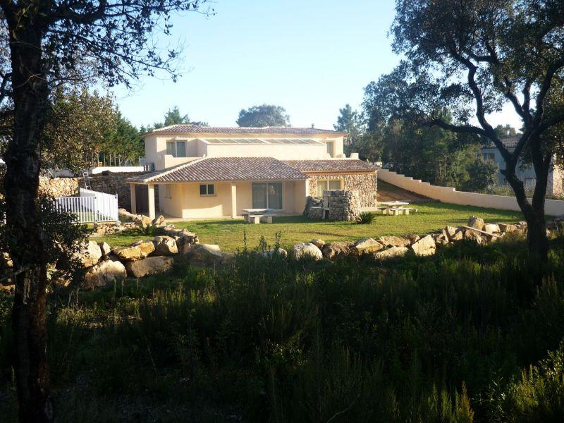 Vista esterna della casa vacanze Affitto Villa  92380 Porto Vecchio