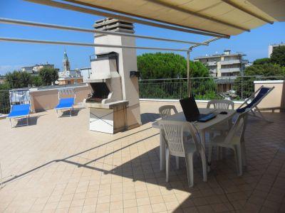 Vista dal terrazzo Affitto Appartamento 100445 Rimini