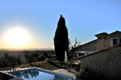 Vista dalla casa vacanze Affitto Villa  102942 Moustiers Sainte Marie