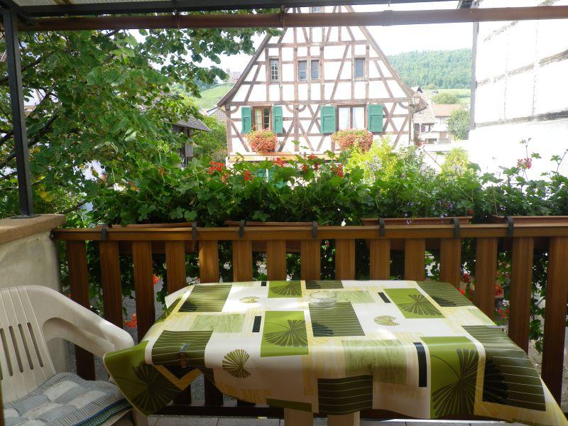 Vista dal balcone Affitto Agriturismo 105801 Kintzheim