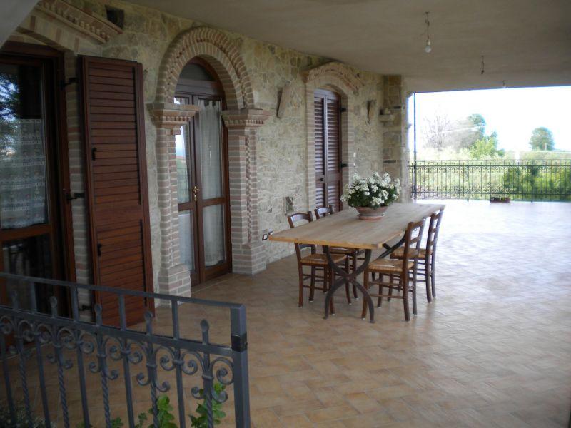 Vista dal terrazzo Affitto Appartamento 105816 San Vito Chietino