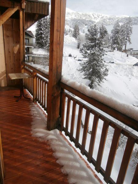 Vista dal balcone Affitto Appartamento 107456 Chamrousse