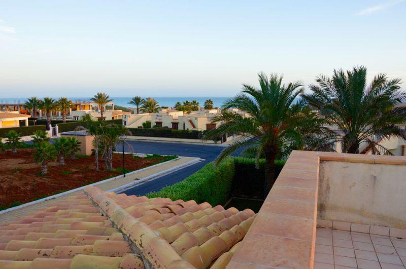 Vista dal terrazzo Affitto Appartamento 107968 Tre Fontane