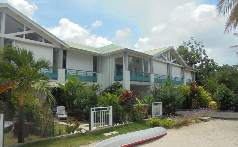 Vista esterna della casa vacanze Affitto Appartamento 108495 Sainte Anne (Guadalupa)