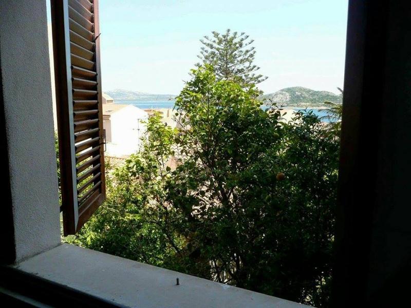 Vista dal balcone Affitto Casa 109530 La Maddalena