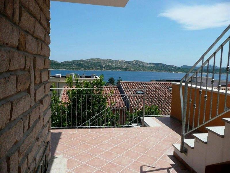 Vista dal terrazzo Affitto Casa 109530 La Maddalena
