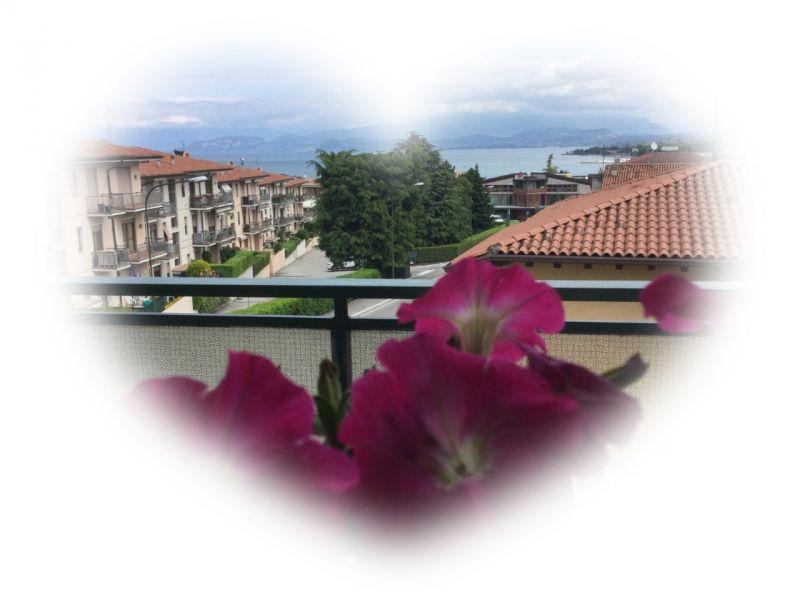 Vista dal balcone Affitto Appartamento 110006 Peschiera del Garda