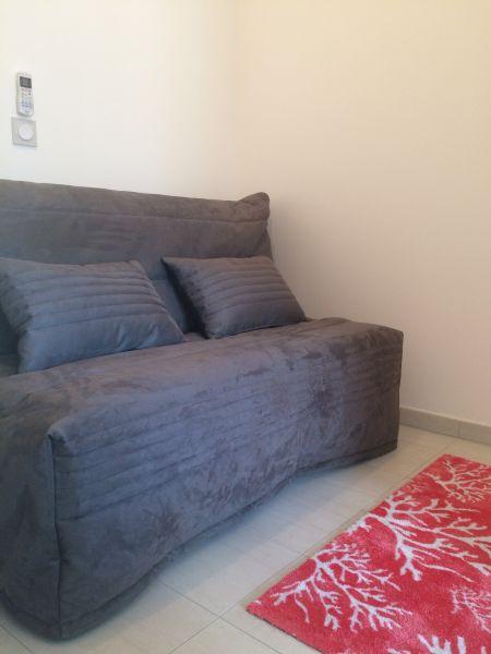 Zona notte cabina Affitto Appartamento 112702 Calvi