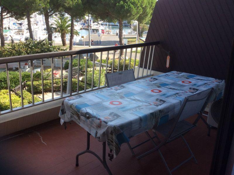 Vista dal balcone Affitto Monolocale 112800 Port Camargue